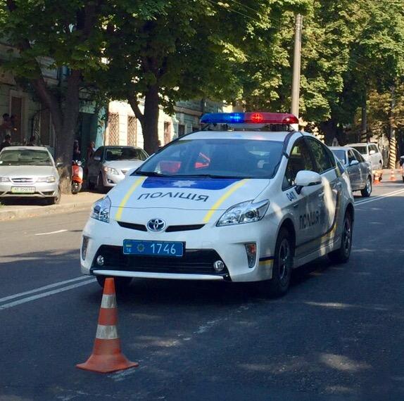 Odessa police car